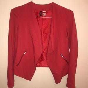 H&M - Draped blazer w/ side zippers